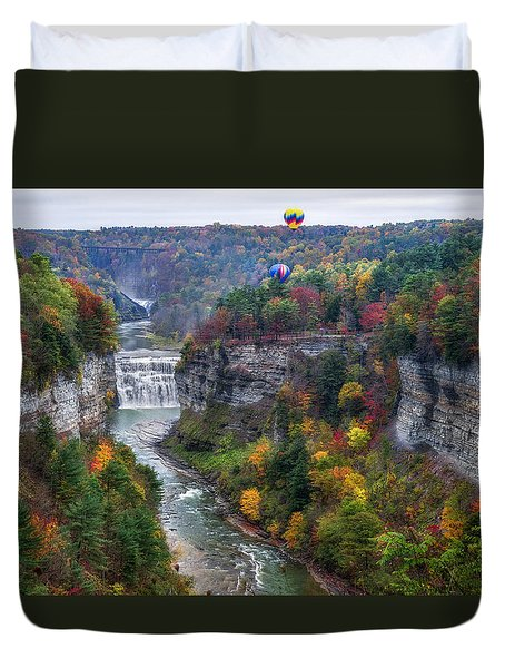 Letchworth Middle Falls Duvet Cover
