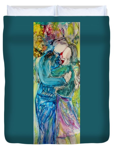 Let's Dance Duvet Cover