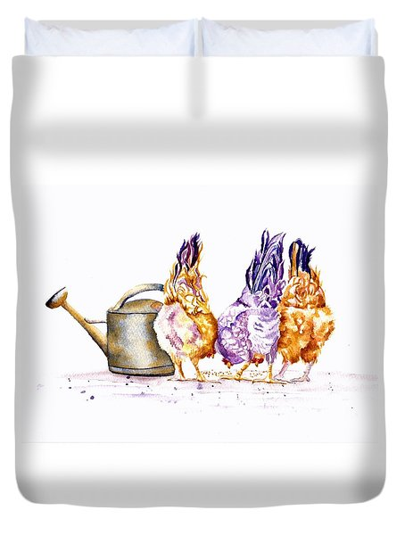 Let's Do Lunch Duvet Cover