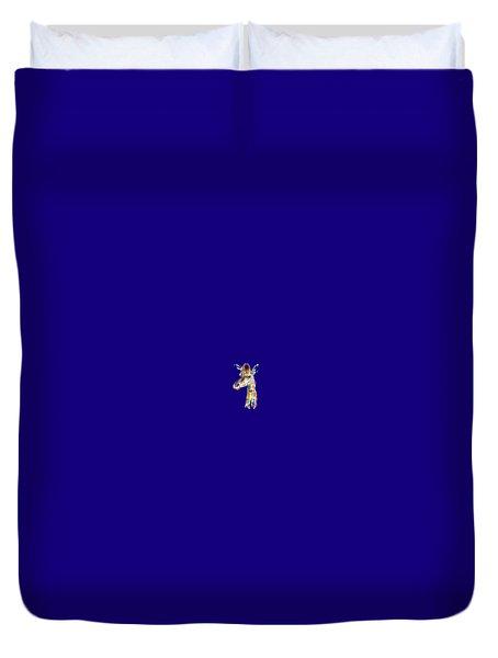 Let's Neck T-shirt Duvet Cover by Herb Strobino