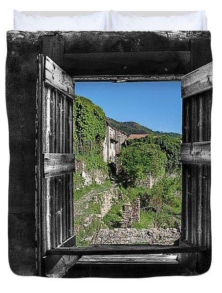 Let's Open The Windows - Apriamo Le Finestre Duvet Cover