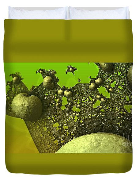 Lettuce Have Escargot Duvet Cover