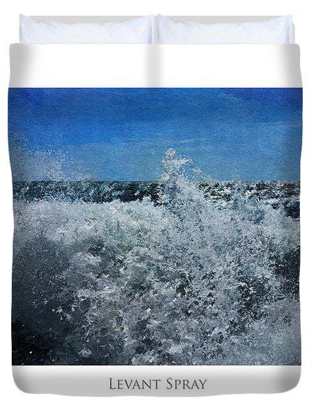 Levant Spray Duvet Cover