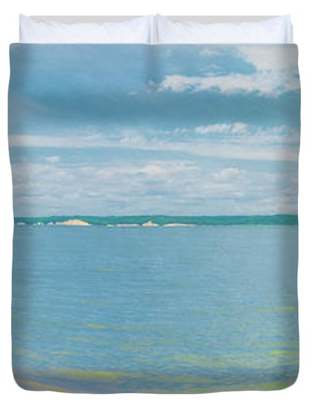 Lewis And Clark Lake Duvet Cover