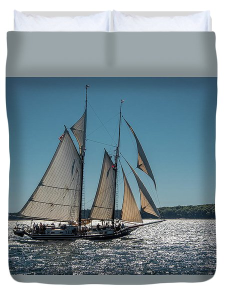 Lewis R. French Duvet Cover