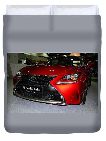 Lexus Rc Turbo Duvet Cover