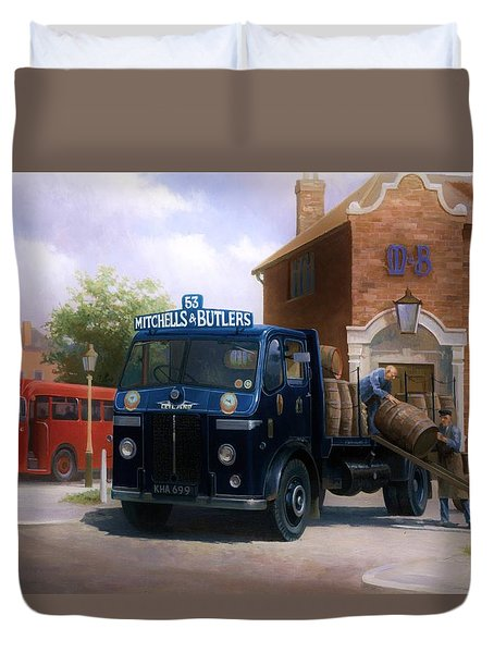 Leyland Dray. Duvet Cover by Mike  Jeffries