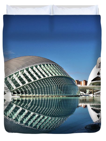 Valencia, Spain - City Of Arts And Sciences Duvet Cover