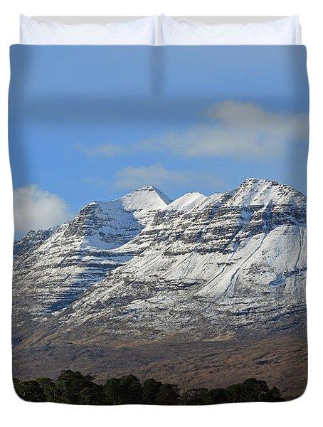 Liatach And Loch Clair Duvet Cover