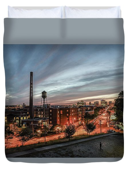 Libby Hill Post Sunset Duvet Cover