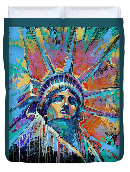 Liberty In Color Duvet Cover