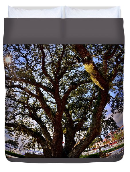 Liberty Oak Harbour Town Hilton Head Sc Duvet Cover