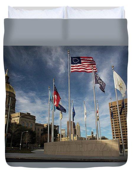 Liberty Plaza Duvet Cover
