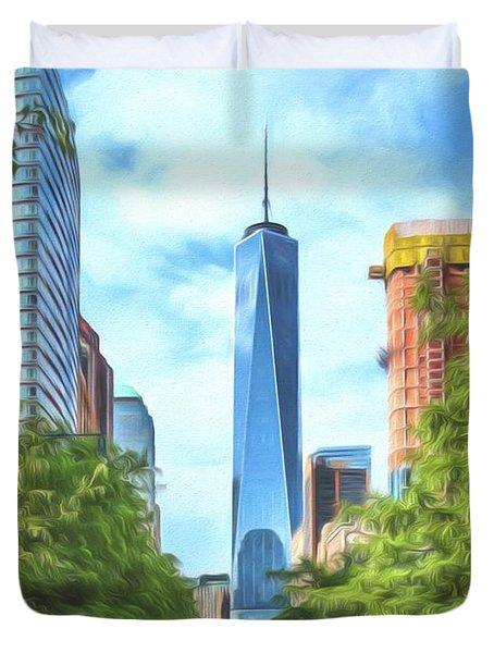 Liberty Tower Duvet Cover