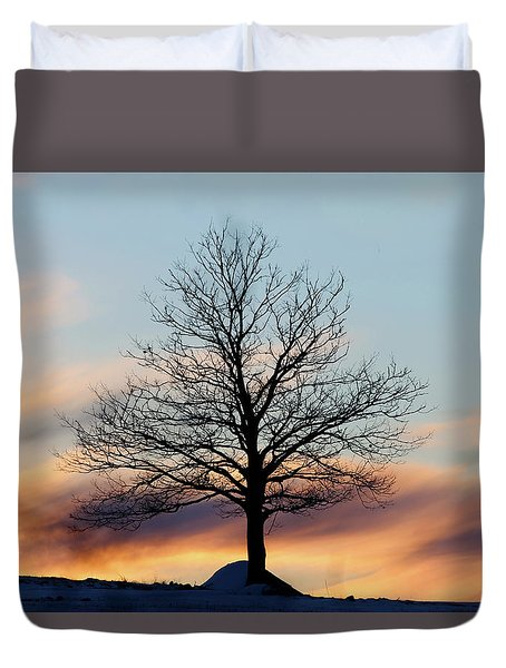 Liberty Tree Sunset Duvet Cover