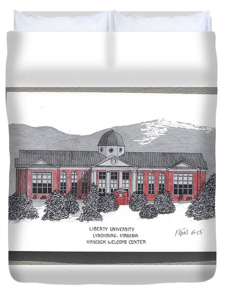 Libertyu - Hancock Welcome Ctr Duvet Cover