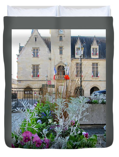 Libourne Town Hall Duvet Cover