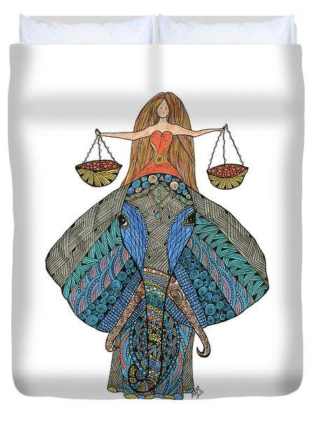 Libra Duvet Cover
