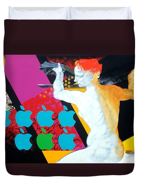 Libyan Duvet Cover by Jean Pierre Rousselet