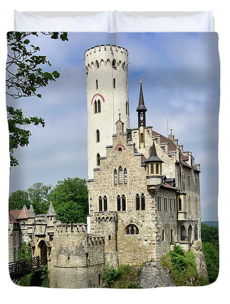 Lichtenstein Castle Duvet Cover