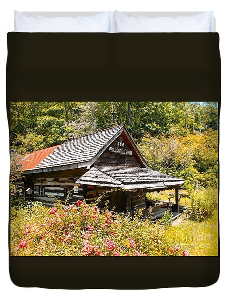 Lick Log Mill Vintage Store II Duvet Cover