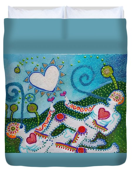 Life After Life #2 Duvet Cover