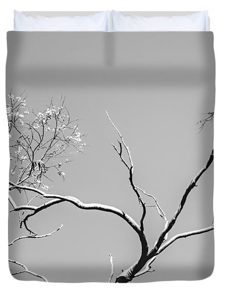 Life And Death Duvet Cover
