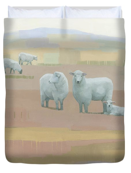 Life Between Seams Duvet Cover by Steve Mitchell