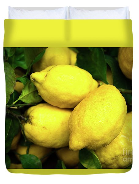 Life Gives You Lemons Duvet Cover