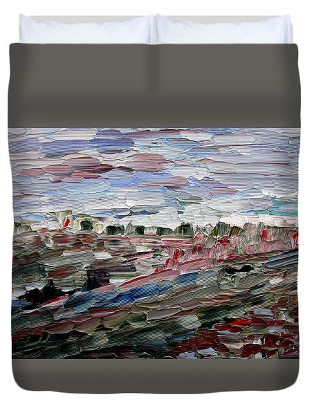 Life Goes On Duvet Cover