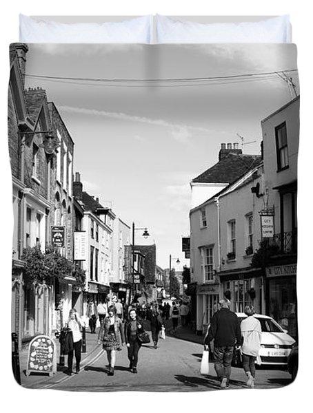 Life In Canterbury Duvet Cover
