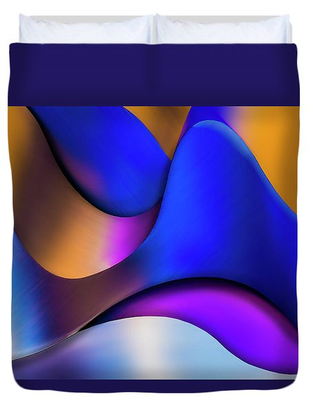 Duvet Cover featuring the photograph Life In Color by Paul Wear