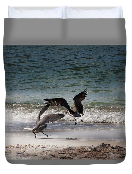 Life In Flight Duvet Cover