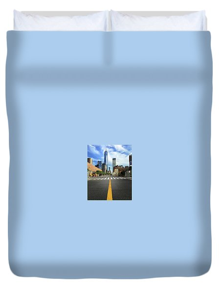Life Is A Highway Duvet Cover