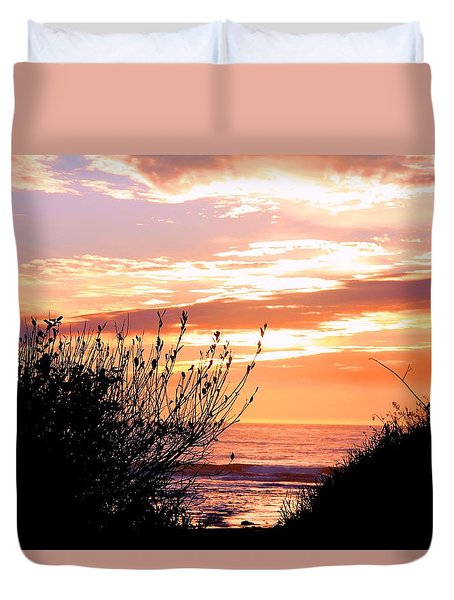 Life Is A Silhouette Duvet Cover