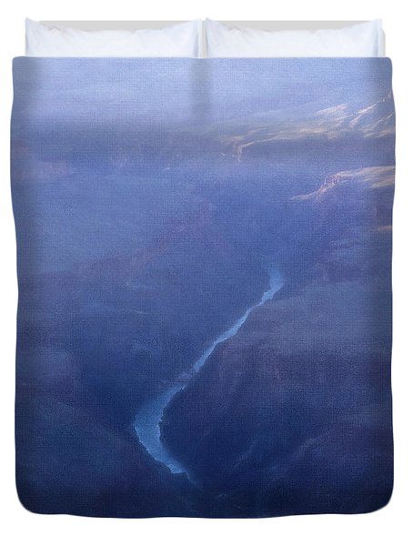 Life Is Mysterious Duvet Cover