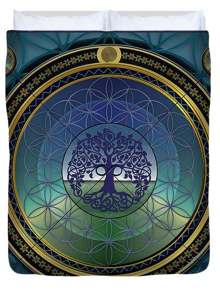 Life Mandala Duvet Cover