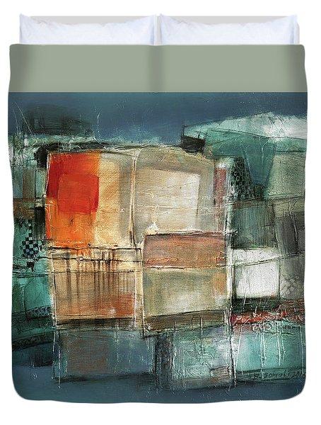 Patterns Duvet Cover by Behzad Sohrabi