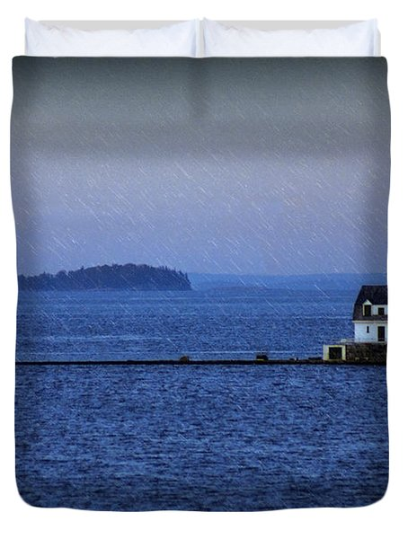Life Of Solitude Duvet Cover