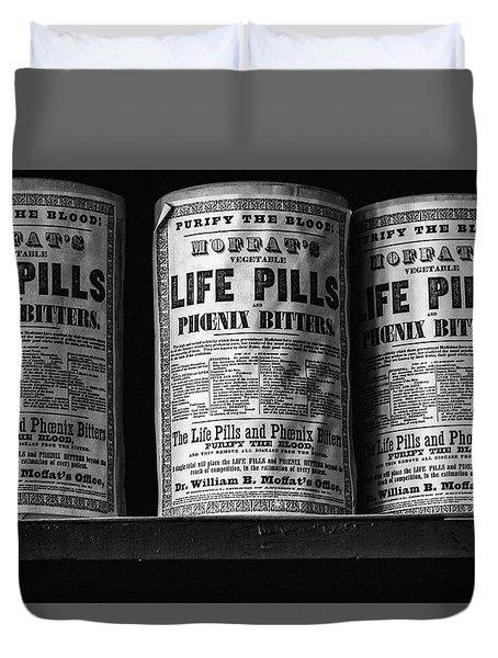 Life Pills Duvet Cover