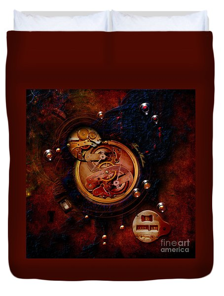 Life Time Machine Duvet Cover