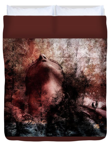 Life Well Lived Duvet Cover by Yvonne Emerson AKA RavenSoul