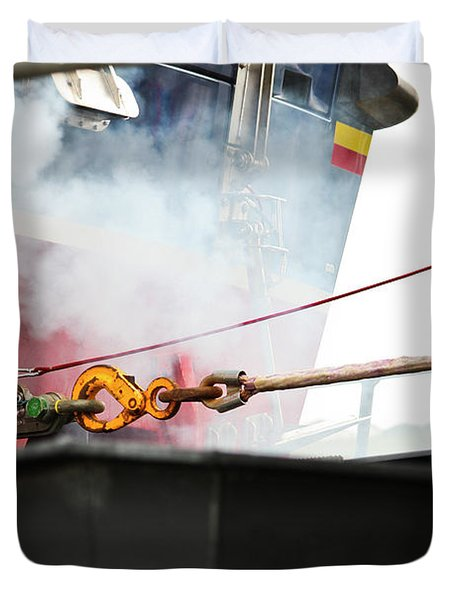 Lifeboat Chocks Away  Duvet Cover