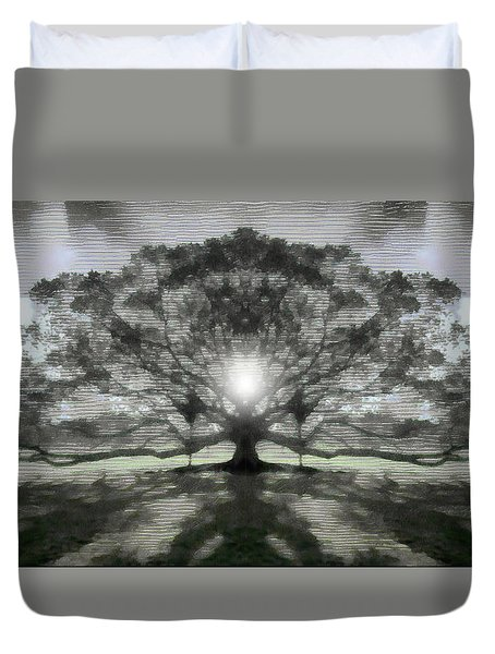 Lifegiver Duvet Cover by Mario Carini