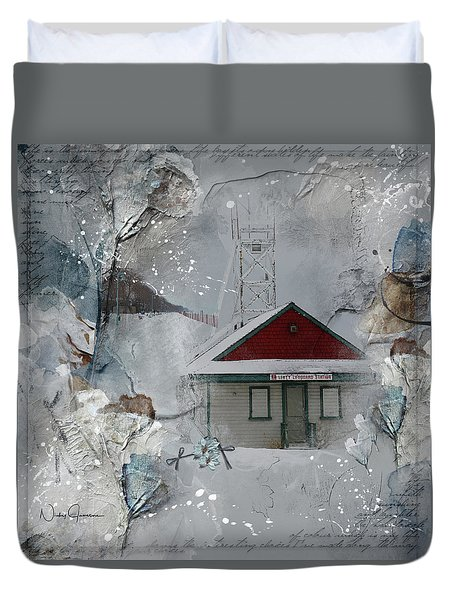 Lifeguard Station Duvet Cover