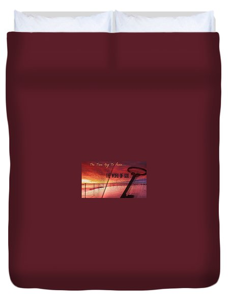 Lifeq416 Duvet Cover by David Norman