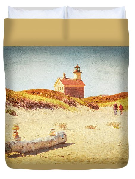 Lifes Journey Duvet Cover by Karol Livote