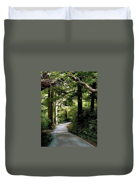 Life's Pathway Duvet Cover