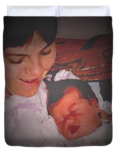 Lifespan 3 Duvet Cover by Lenore Senior