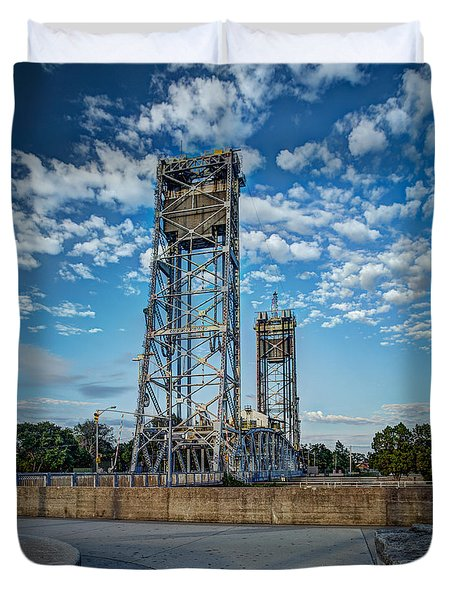 Lift Bridge Duvet Cover